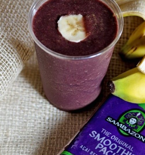 AçAÍ E GUARANà SMOOTHIE